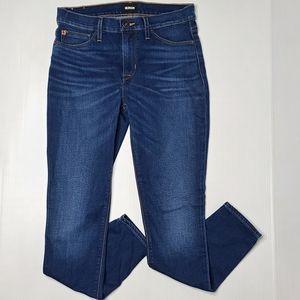 Hudson 27 Natalie Ankle Super Skinny Blue Jeans